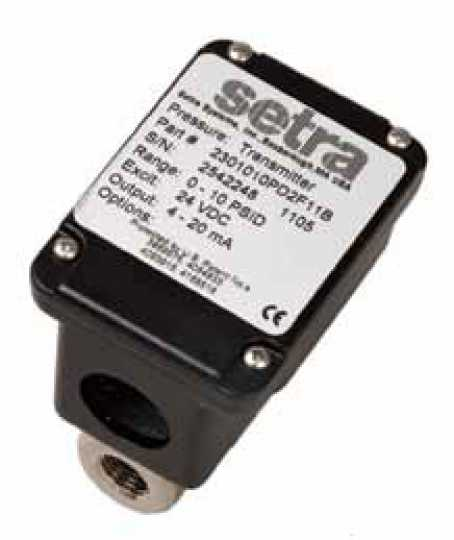 Setra Systems, Inc. - 230(Wet-to-Wet Pressure Transducer